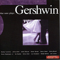 Обложка альбома «Various Artists — Blue Note Plays Gershwin» (1999)