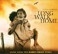 Обложка альбома «Long Walk Home: Music From The Rabbit-Proof Fence» (Peter Gabriel, 2002)