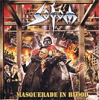 Обложка альбома «Masquerade In Blood» (Sodom, 1995)