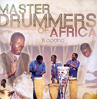 Обложка альбома «Master Drummers Of Africa» (2005)