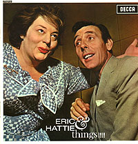Обложка альбома «Eric Sykes & Hattie Jacques. Eric & Hattie & Things!!!» (Eric Sykes, Hattie Jacques, 2006)