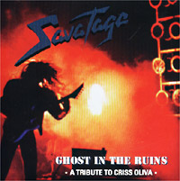 Обложка альбома «Ghost In The Ruins» (Savatage, 1995)