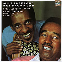 Обложка альбома «Milt Jackson. Ray Brown Jam. Montreux «77» (Milt Jackson, Ray Brown, 1989)