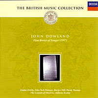 Обложка альбома «Dowland. First Booke Of Songes» (2006)