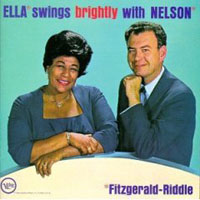 Обложка альбома «Ella Swings Brightly With Nelson» (Ella Fitzgerald, 2006)