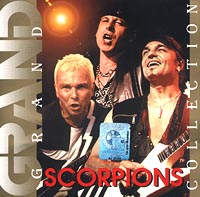 Обложка альбома «Grand Collection. Scorpions» (Scorpions, 2001)