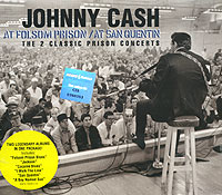 Обложка альбома «At Folsom Prison/ At San Quentin» (Johnny Cash, 2006)