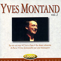 Обложка альбома «Gold. Vol. 2» (Yves Montand, 1995)