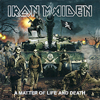 Обложка альбома «A Matter Of Life And Death» (Iron Maiden, 2006)