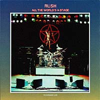 Обложка альбома «All The World's A Stage» (Rush, 1997)