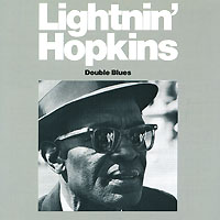 Обложка альбома «Double Blues» (Lightnin» Hopkins, 1989)