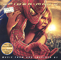 Обложка альбома «Spider-Man 2. Music From And Inspired By» (2004)