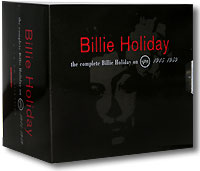 Обложка альбома «The Complete Billie Holiday On Verve 1945-1959» (Billie Holiday, 1992)