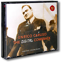 Обложка альбома «The Digital Comeback» (Enrico Caruso, 2004)