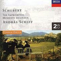 Обложка альбома «Schubert. The Impromptus. Moments Musicaux. Andras Schiff» (Andras Schiff, 2006)