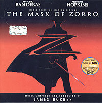 Обложка альбома «The Mask Of Zorro: Music From The Motion Picture» (Music Composed And Conducted By James Horner, 1998)