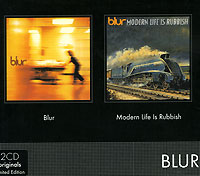 Обложка альбома «Blur. Modern Life Is Rubbish» (Blur, 2004)