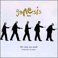 Обложка альбома «Live — The Way We Walk Vol.1» (Genesis, ????)