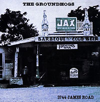 Обложка альбома «3744 James Road» (The Groundhogs, 2001)