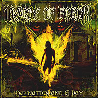 Обложка альбома «Damnation And A Day» (Cradle Of Filth, 2003)