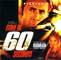 Обложка альбома «Gone In 60 Seconds: Music From The Motion Picture» (Original Soundtrack, 2000)