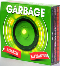 Обложка альбома «Hits Collection» (Garbage, 2005)