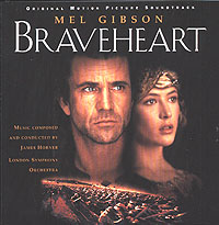 Обложка альбома «Braveheart. Original Motion Picture Sondtrack» (Original Sondtrack, 1995)