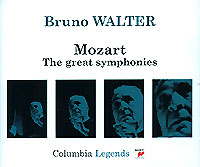 Обложка альбома «Mozart. The Great Symphonies. Bruno Walter» (Bruno Walter, 2003)