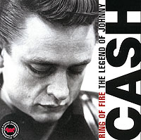Обложка альбома «Ring Of Fire. The Legend Of Johnny Cash» (Johnny Cash, 2005)