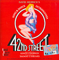 Обложка альбома «42nd Street. Original Broadway Cast Recording» (2003)