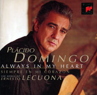 Обложка альбома «Always In My Heart» (Placido Domingo, 1997)