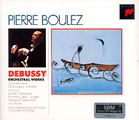Обложка альбома «Debussy. Orchestral Works» (Pierre Boulez, 1995)