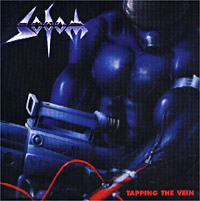 Обложка альбома «Tapping The Vein» (Sodom, 1992)