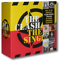 Обложка альбома «The Singles» (The Clash, 2006)