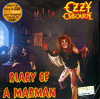 Обложка альбома «Diary Of A Madman» (Ozzy Osbourne, 1995)
