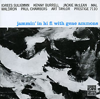 Обложка альбома «Jammin» In Hi Fi With» (Gene Ammons, 1992)