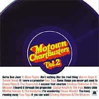 Обложка альбома «Motown Chartbusters Vol.2» (Various Artists, 2000)
