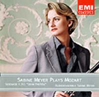 Обложка альбома «Sabine Meyer Plays Mozart, Vol.1» (Sabine Meyer, ????)