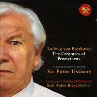 Обложка альбома «Beethoven. The Creatures Of Prometheus» (Ludwig Van Beethoven, 2001)
