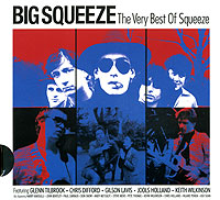 Обложка альбома «Big Squeeze. The Very Best Of Squeeze» (Squeeze, 2002)