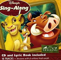 Обложка альбома «Disney's Sing-Along. The Lion King» (2006)