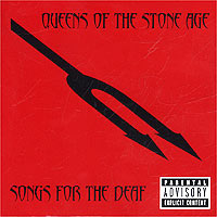 Обложка альбома «Queens Of The Stone Age. Songs For The Deaf» (2003)