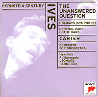 Обложка альбома «Ives. The Unanswered Question. Carter. Concerto For Orchestra. Leonard Bernstein» (Leonard Bernstein, 1998)