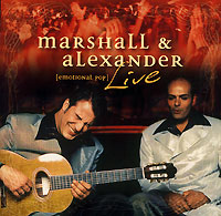 Обложка альбома «Live. Emotional Pop» (Marshall & Alexander, 2005)