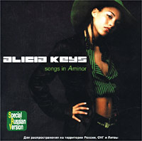 Обложка альбома «Songs in A Minor» (Alicia Keys, 2002)