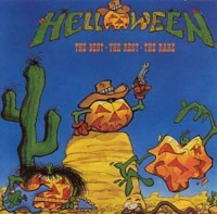 Обложка альбома «The Best, The Rest, The Rare» (Helloween, 1998)