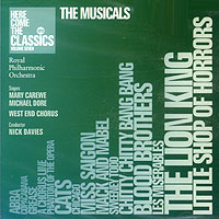 Обложка альбома «Here Come The Classics. The Musicals. Volume Seven» (Royal Philharmonic Orchestra, 2002)
