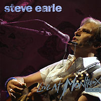 Обложка альбома «Live At Montreux 2005» (Steve Earle, 2006)