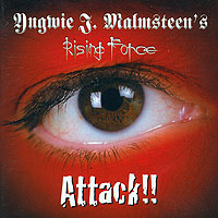 Обложка альбома «Attack!!» (Yngwie J. Malmsteen's Rising Force, 2002)