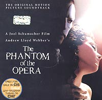 Обложка альбома «The Phantom Of The Opera: The Original Motion Picture Soundtrack» (2004)